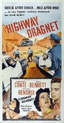 Highway Dragnet 1954 DVD - Richard Conte / Joan Bennett